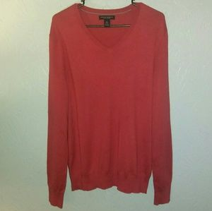 New Banana Republic Sweater M Silk Cashmere Red